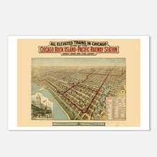 Chicago Illinois Postcards (Package of 8)