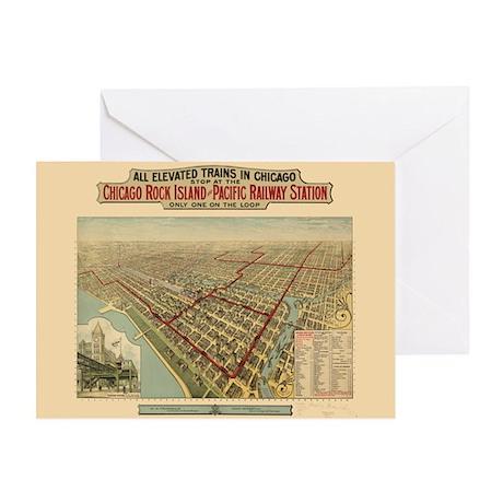 Chicago Illinois Greeting Card