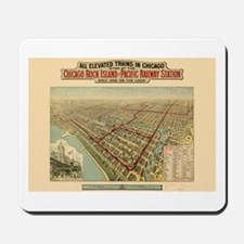 Chicago Illinois Mousepad
