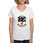 86th FTR WPNS SQ Women's V-Neck T-Shirt