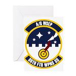 86th FTR WPNS SQ Greeting Card