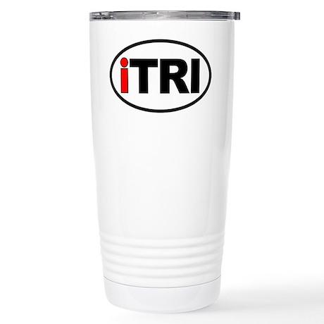 iTRI Ironman Stainless Steel Travel Mug