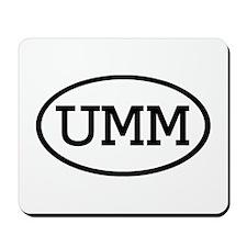 UMM Oval Mousepad
