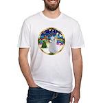 XmasMusic 3/Am Eskimo #3 Fitted T-Shirt