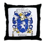 Boncza Family Crest Throw Pillow