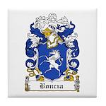 Boncza Family Crest Tile Coaster