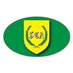 SCA Oval Sticker