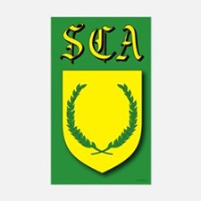 SCA Rectangle Decal