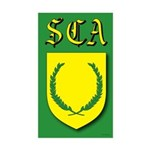 SCA Rectangle Sticker