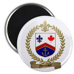 NORMAND Family Crest Magnet
