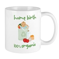 Home Birth 100% Organic - Dark Baby Mug