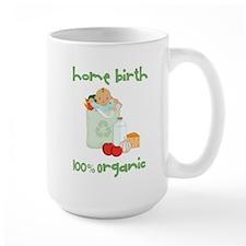 Home Birth 100% Organic - Dark Baby Mug