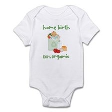 Home Birth 100% Organic - Dark Baby Infant Bodysui