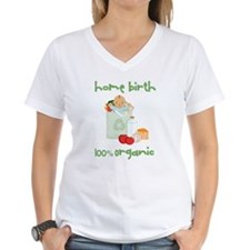 Home Birth 100% Organic - Dark Baby Shirt