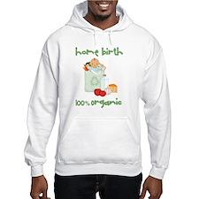 Home Birth 100% Organic - Dark Baby Hoodie