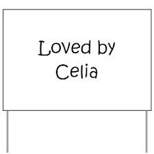 Cute Celia Yard Sign