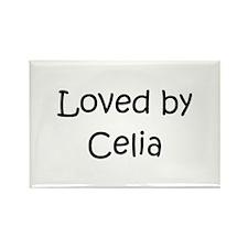 Cute Celia Rectangle Magnet