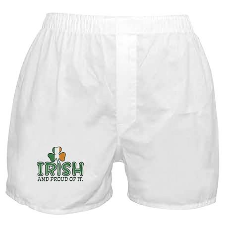 Irish and Proud Of It Boxer Shorts