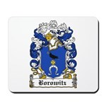 Borowitz Family Crest Mousepad