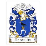 Borowitz Family Crest Small Poster