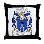 Borowitz Family Crest Throw Pillow