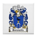 Borowitz Family Crest Tile Coaster