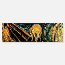 Munch's The Scream Bumper Bumper Bumper Sticker