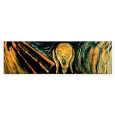 Munch's The Scream Bumper Bumper Sticker
