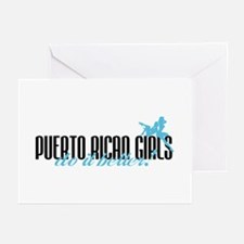 Puerto Rican Girls Do It Better! Greeting Cards (P