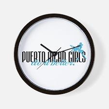 Puerto Rican Girls Do It Better! Wall Clock