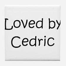 Cute Cedric Tile Coaster
