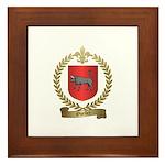 OUELLET Family Crest Framed Tile
