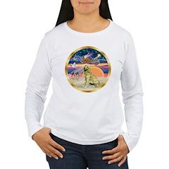 XmasStar/Golden #1 T-Shirt