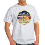 XmasStar/Golden #1 Light T-Shirt