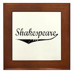 Shakespeare Framed Tile