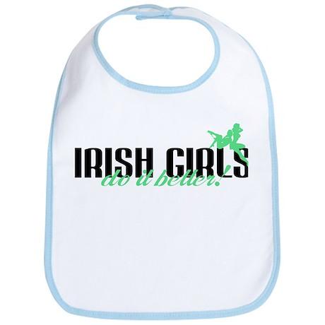 Irish Girls Do It Better! Bib