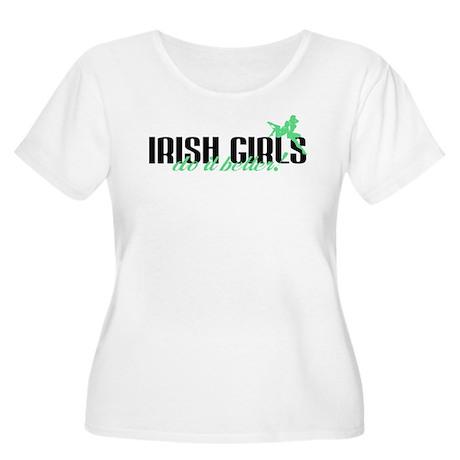 Irish Girls Do It Better! Women's Plus Size Scoop