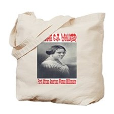Madame C.J. Walker Tote Bag