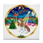 XmasMusic 3/Cavalier #F1 Tile Coaster