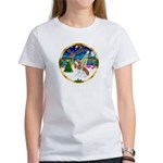 XmasMusic 3/Cavalier #F1 Women's T-Shirt
