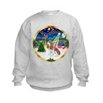 XmasMusic 3/Cavalier #F1 Kids Sweatshirt
