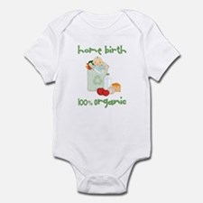 Home Birth 100% Organic - Light Baby Infant Bodysu
