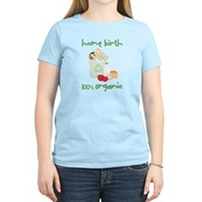 Home Birth 100% Organic - Light Baby T-Shirt