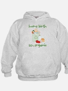 Home Birth 100% Organic - Light Baby Hoodie