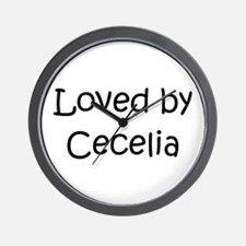 Cute Cecelia Wall Clock