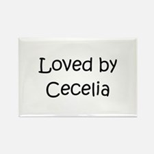 Funny Cecelia Rectangle Magnet