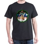 XmasSunrise/Vizsla Dark T-Shirt