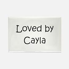 Cute Cayla Rectangle Magnet