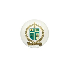 OUIMET Family Crest Mini Button