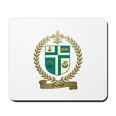 OUIMET Family Crest Mousepad